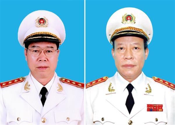 Bo nhiem Thu truong co quan ANDT va co quan CSDT Bo Cong an