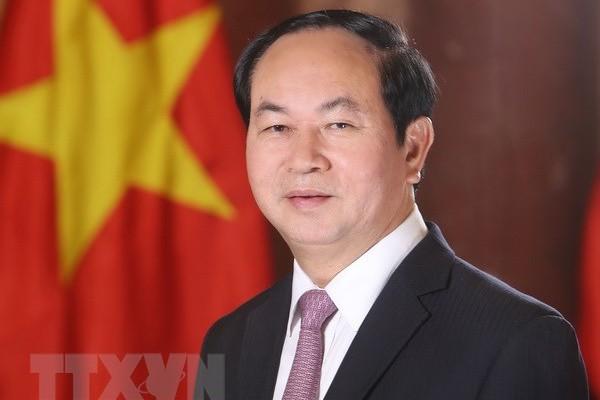 Chu tich nuoc Tran Dai Quang tu tran