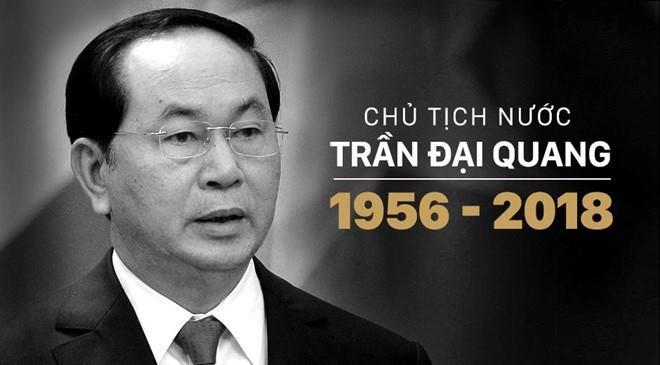 Thuong tiec Chu tich nuoc Tran Dai Quang