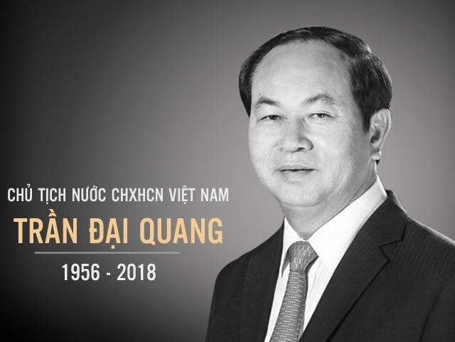 Dam bao tuyet doi an ninh quoc tang Chu tich nuoc Tran Dai Quang