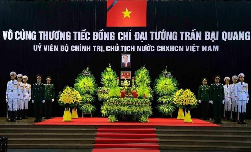 Quoc tang Chu tich nuoc Tran Dai Quang: Nhung dong so tang day xuc dong