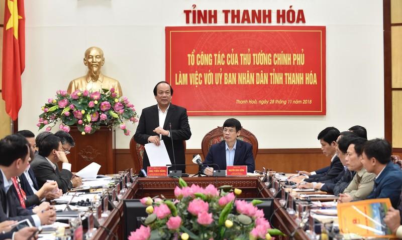 """Thu tuong luu y Thanh Hoa khac phuc triet de """"quan lo than toc"""""""