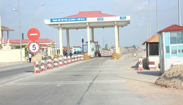 BOT Bac Ninh - Uong Bi quoc lo 18 se thu phi tu 24/12