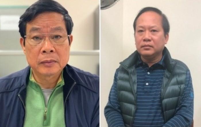 Vi sao hai cuu Bo truong Nguyen Bac Son va Truong Minh Tuan bi khoi to?