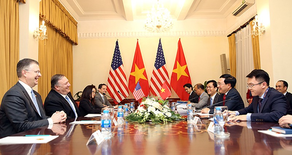 Hoa Ky coi trong quan he Doi tac toan dien voi Viet Nam