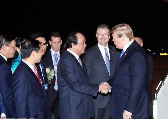 Tong thong My Donald Trump cam on Viet Nam da don tiep nong hau, chu dao
