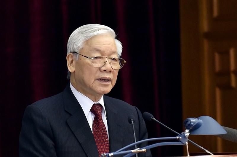 Bo Ngoai giao thong tin suc khoe Tong Bi thu, Chu tich nuoc Nguyen Phu Trong