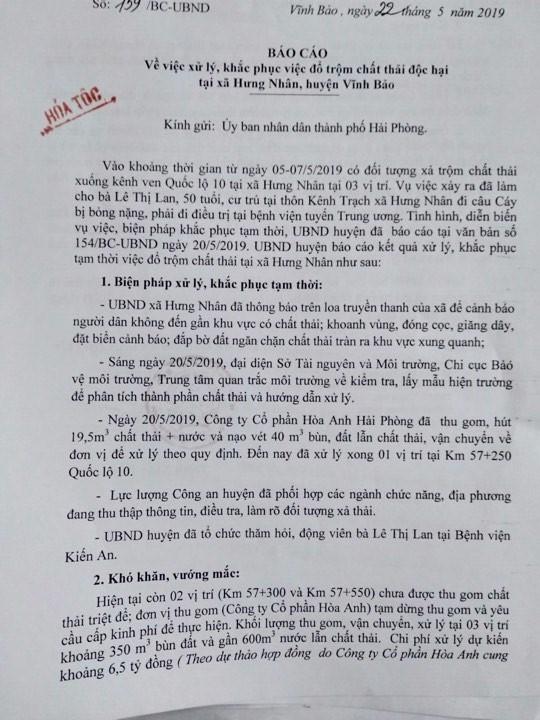 Muong nuoc chat thai doc hai o Hai Phong: Cong an dang dieu tra-Hinh-6