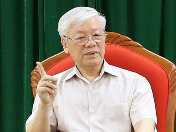 Tong Bi thu Nguyen Phu Trong: Kien quyet khong de lot nguoi chay chuc vao cap uy khoa moi