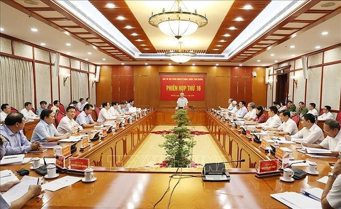 Vu SAGRI vao dien theo doi cua Ban Chi dao phong chong tham nhung