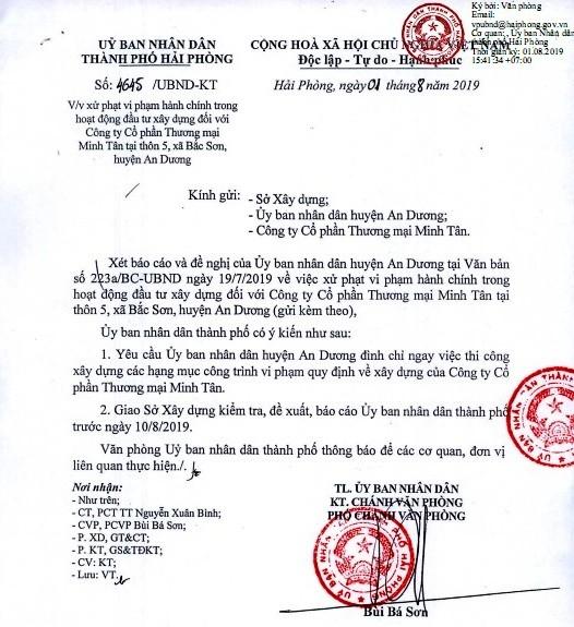Sap gian giao cay xang o Hai Phong: Doanh nghiep