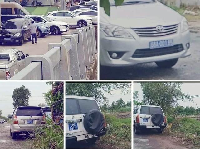 Chu nhiem UBKT Kien Giang phai chiu trach nhiem xe bien xanh du tiec khanh thanh?