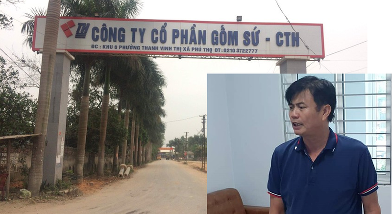"Gom su Thanh Ha bi Cong ty MTCNC Hoa Binh boc me ""noi doi"" nhu nao?"
