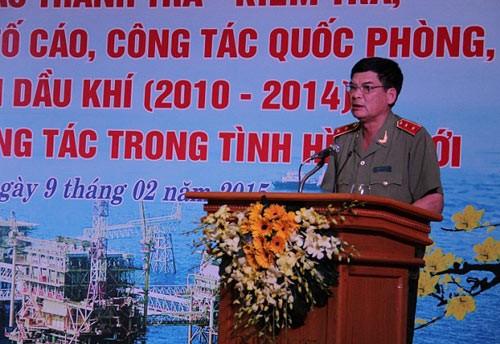 Canh cao Trung tuong Trinh Van Thong vi vi pham bi mat Nha nuoc