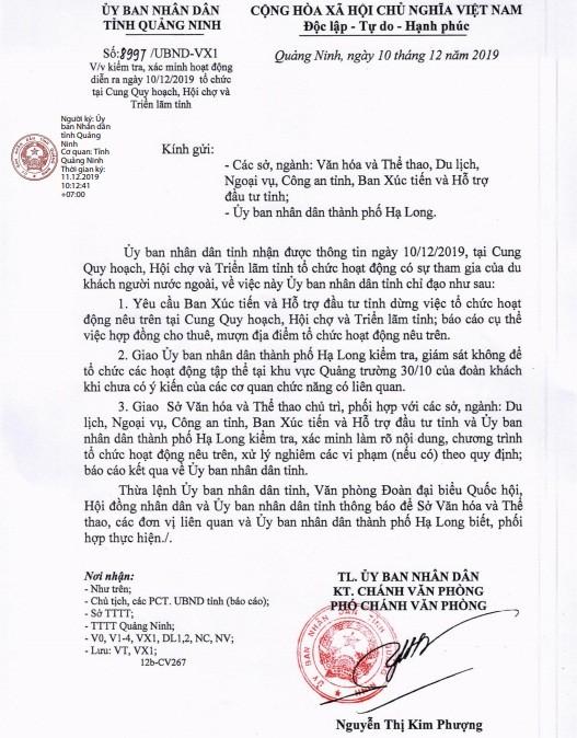 "600 nguoi Trung Quoc tham du su kien ""chui"" tai Cung Quy Hoach: Quang Ninh chi dao xu ly nghiem-Hinh-2"