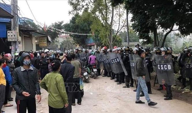 Vu Dong Tam: Bo Cong an khang dinh khong co them canh sat hy sinh