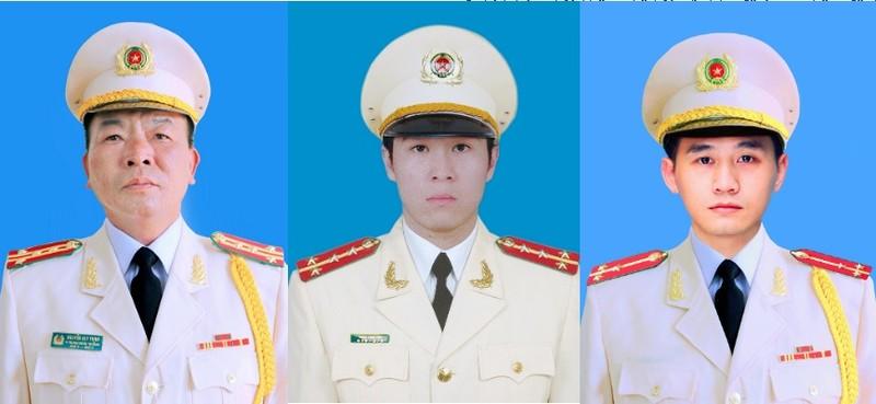 Bo Cong an thong tin le tang 3 can bo Cong an hy sinh o Dong Tam
