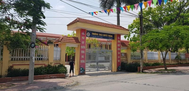 Hai Duong: Truong THCS Quyet Thang dieu hoc sinh di tia cay, bi dien giat tu vong
