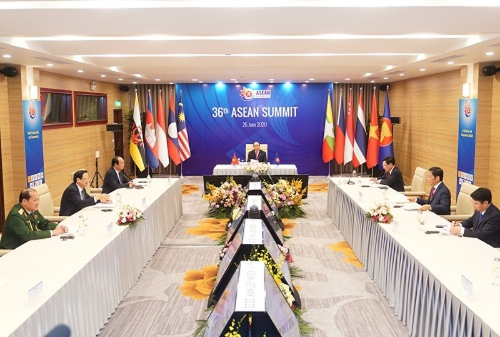 Cac nuoc ASEAN de cao lap truong dam bao hoa binh, on dinh tren Bien Dong