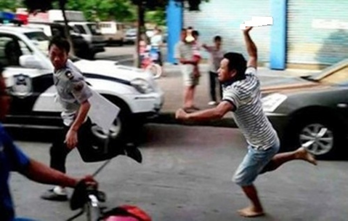 Quang Ninh: Rut dao dam chet nguoi vi mau thuan khi tham gia giao thong