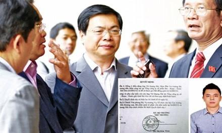 "Hanh trinh nguyen Bo truong Vu Huy Hoang ""nang do khong trong sang"" con trai len Pho TGD Sabeco?"