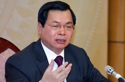 Ket luan dieu tra chi ro sai pham nguyen Bo truong Cong Thuong Vu Huy Hoang