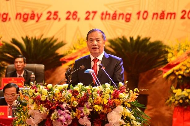 """Bau BCH Dang bo tinh Hai Duong: Khong de lot tieu cuc, """"loi ich nhom"""""""