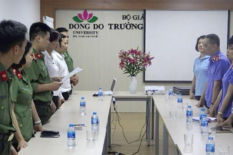 Dai hoc Dong Do cap bang gia: Hai vu thuoc Bo GD&DT sai pham the nao?