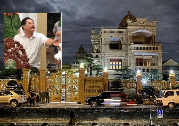 Dai gia Le Thai Thien chu biet thu dat vang bi bat tam giam
