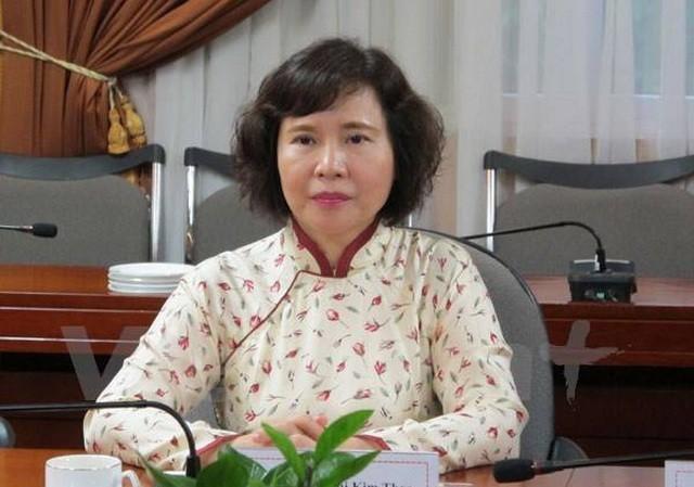 Thieu tuong To An Xo: Hien chua co thong tin ba Ho Thi Kim Thoa tron o dau