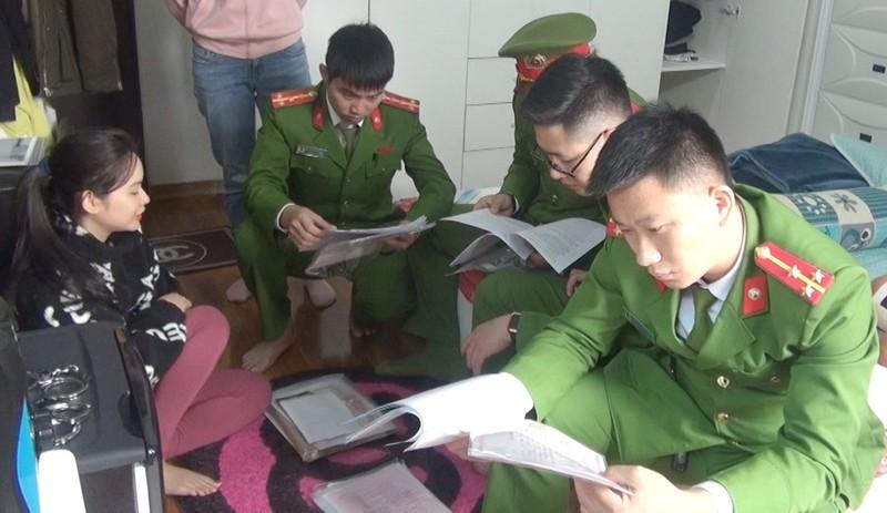 """Cong an Thanh Hoa dang truy bat giang ho com can Cuong """"gau"""""""