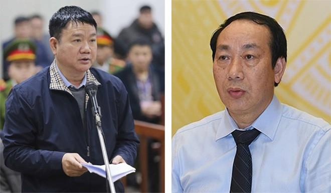 Ong Dinh La Thang va cuu Thu truong GTVT Nguyen Hong Truong hau toa
