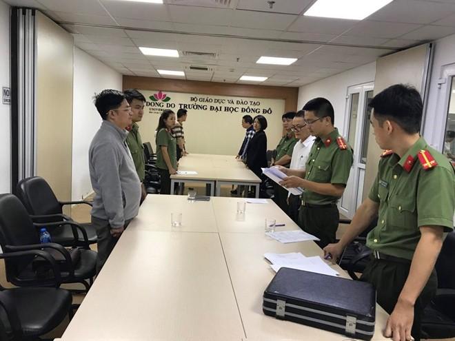 Bang gia DH Dong Do: Thu tuong yeu cau khan truong truy bat Tran Khac Hung