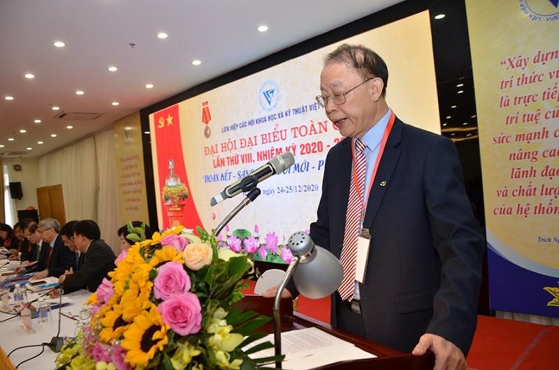 Khai mac Dai hoi Dai bieu toan quoc Lien hiep hoi Viet Nam lan VIII-Hinh-4