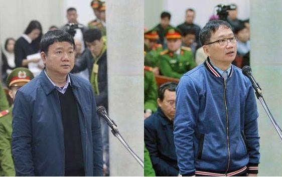 Sai pham Ethanol Phu Tho: Ong Dinh La Thang, Trinh Xuan Thanh sap hau toa