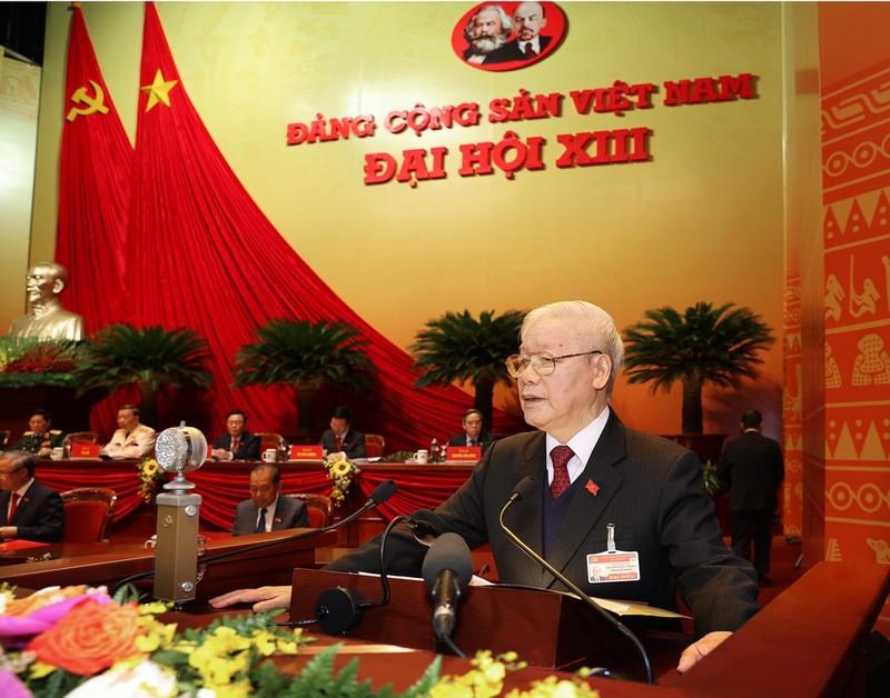 Dai hoi Dang lan thu XIII: Khoi day manh me tinh than yeu nuoc