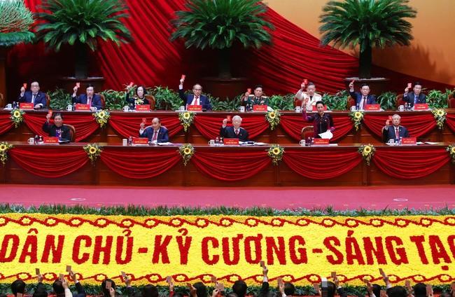Dai hoi Dang lan thu XIII: Bieu quyet so luong 200 Uy vien BCH Trung uong