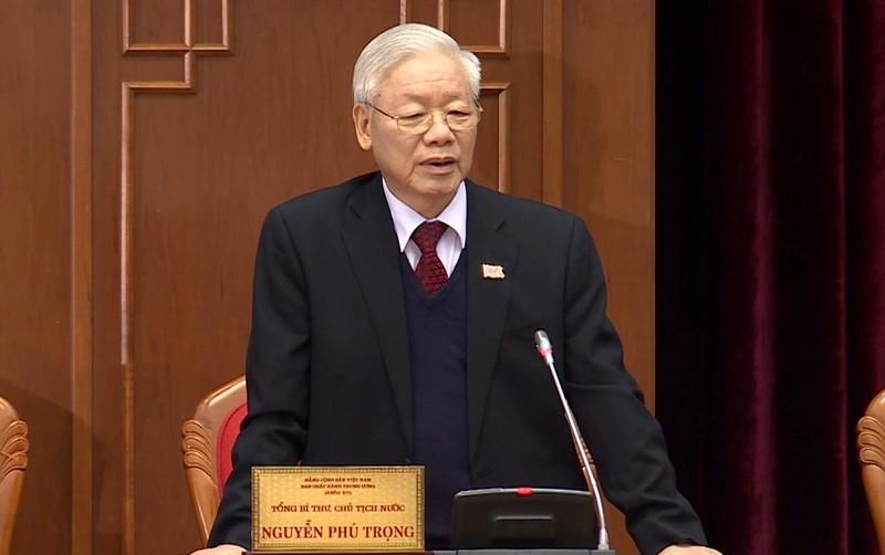 Danh sach Bo Chinh tri, Ban Bi thu va Uy ban Kiem tra Trung uong khoa XIII