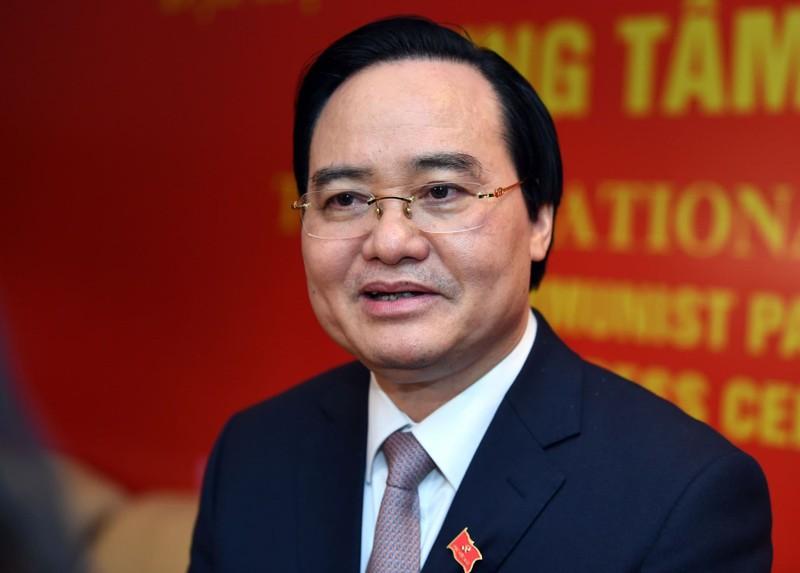 Bo truong Phung Xuan Nha khong trung Ban chap hanh Trung uong khoa XIII