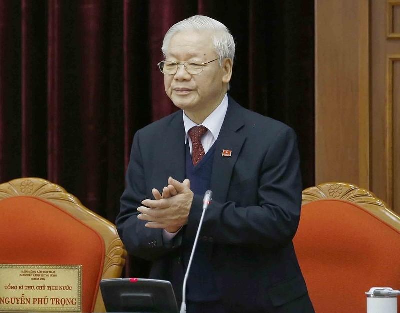Tieu su ong Nguyen Phu Trong, Tong Bi thu BCH Trung uong Dang khoa XIII