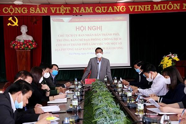 Nguoi dan muon vao Hai Phong phai co giay xac nhan