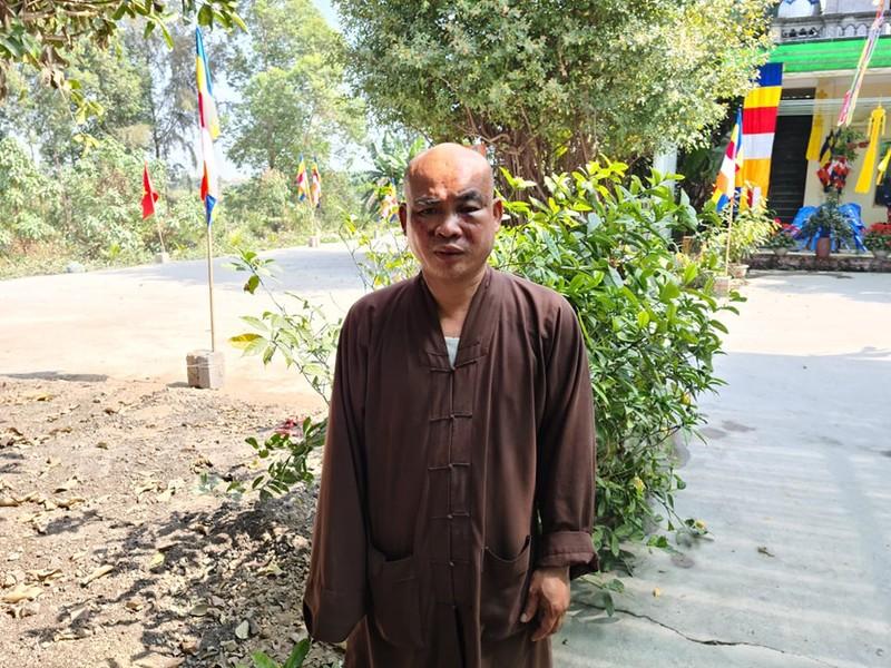 Su chua Thien Mu o Hai Phong bi hai nguoi danh vo xuong mui-Hinh-2