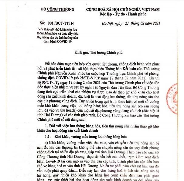 """Hang hoa Hai Duong """"tac"""" duong xuat khau: Bo Cong Thuong kien nghi Thu tuong-Hinh-3"""