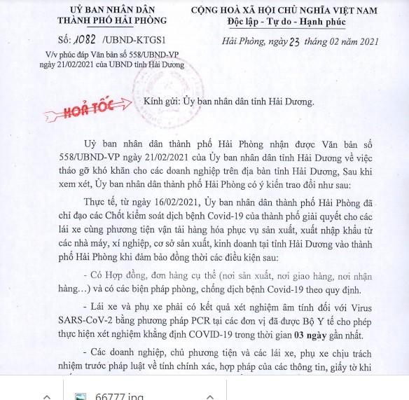 """Hang hoa """"tac"""" duong xuat khau: Hai Phong """"bac"""" de xuat cua Hai Duong?-Hinh-3"""