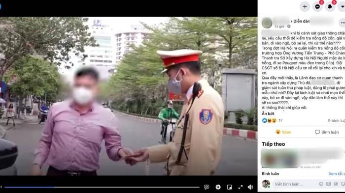 """Lanh dao Thanh tra So XD Ha Noi bi to """"ne thoi con"""": Xu sao... neu dung?"""