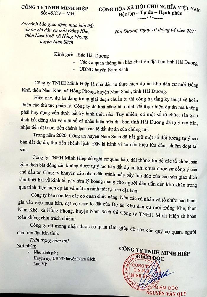 """Boc me chieu tro co dat ban Du an KDC Hong Khe: """"Bo tay"""" hay lam ngo?-Hinh-2"""