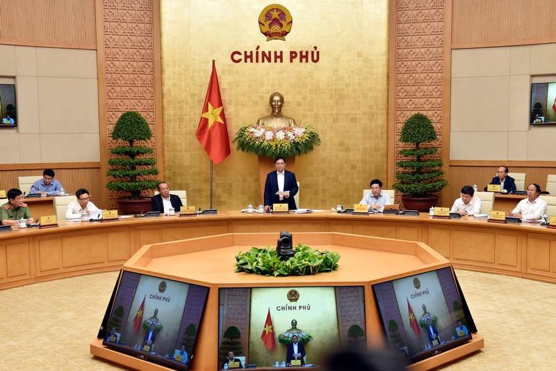 Phan cong cong tac cua Thu tuong Pham Minh Chinh va cac Pho Thu tuong Chinh phu