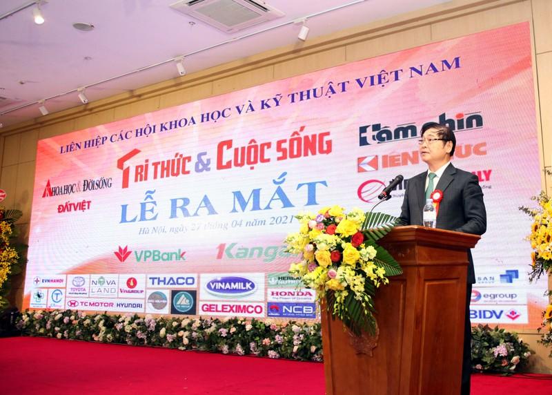 """Chu tich VUSTA Phan Xuan Dung: """"Bao Tri thuc va Cuoc song khoi day, gan ket doi ngu tri thuc Viet Nam"""""""