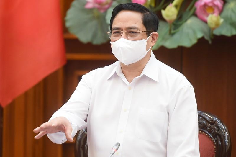 "Thu tuong Pham Minh Chinh: ""Moi su chu quan, lo la se phai tra gia ve tinh mang con nguoi"""