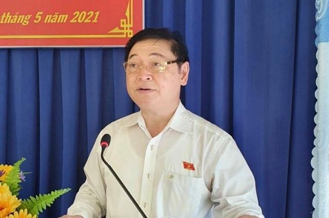 Chu tich VUSTA Phan Xuan Dung, cac ung vien DBQH tiep xuc cu tri 4 xa Phuoc Tien, Phuoc Tan, Phuoc Hoa, Phuoc Binh-Hinh-2